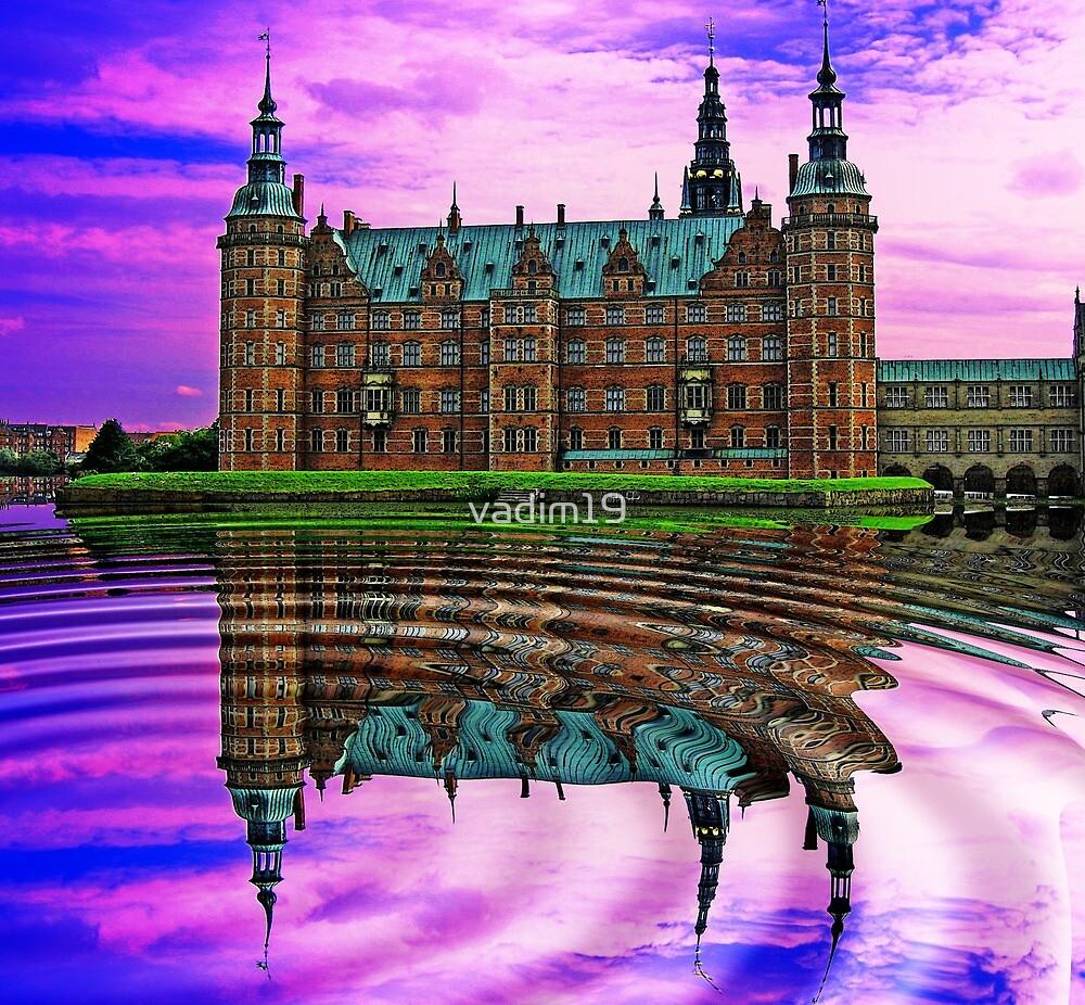 Frederiksborg Castle, Hillerød, Denmark by vadim19