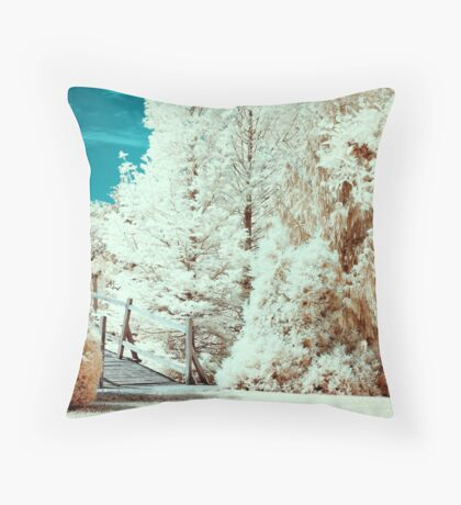 Erdotelek (Infrared) Throw Pillow