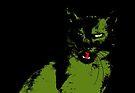 Black Cat 2 - Card by Etakeh