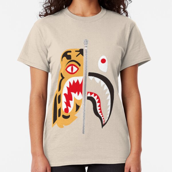 Bape Tiger x shark Classic T-Shirt