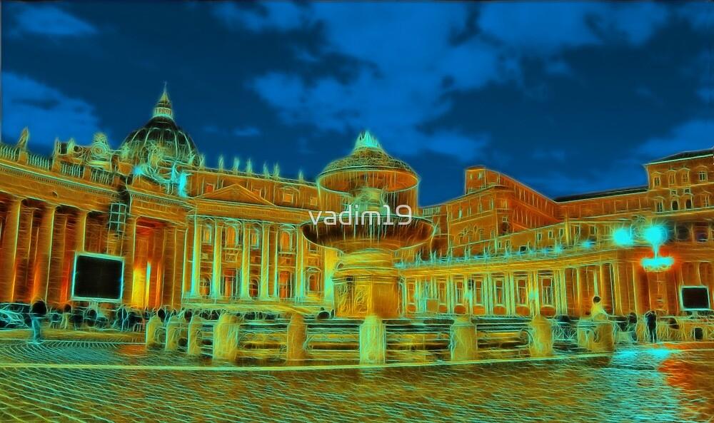 Saint Peter's Square, Vatican by vadim19