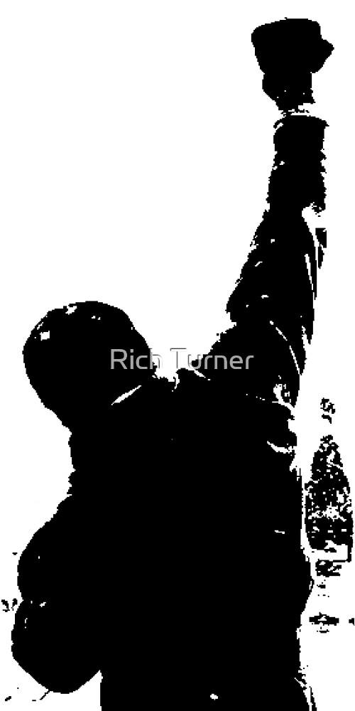 Rocky Balboa Philly Steps De Rich Turner Redbubble