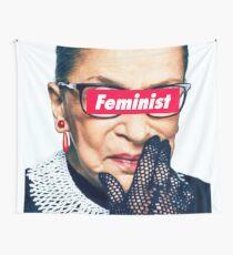 Notorious Feminist RBG Wall Tapestry