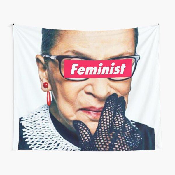Notorious Feminist RBG Tapestry