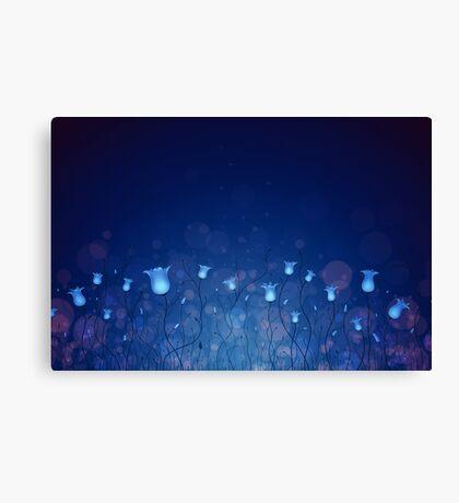 Bluebells 4 Canvas Print