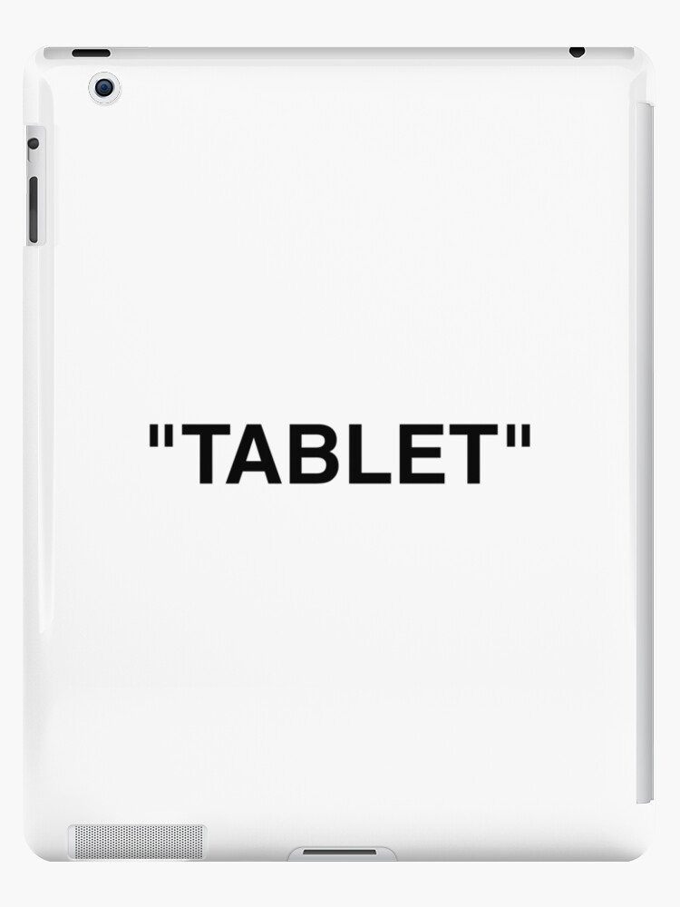promo code ecce1 ca3db 'Off White Inspired Quotation Mark Design' iPad Case/Skin by Bst101