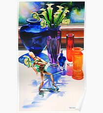 """Parasol"", Watercolor, Paul Jackson""Parasol"", Watercolor Poster"