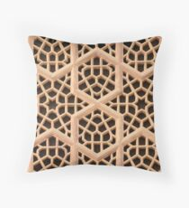 Old Islamic Stone Grill  Throw Pillow