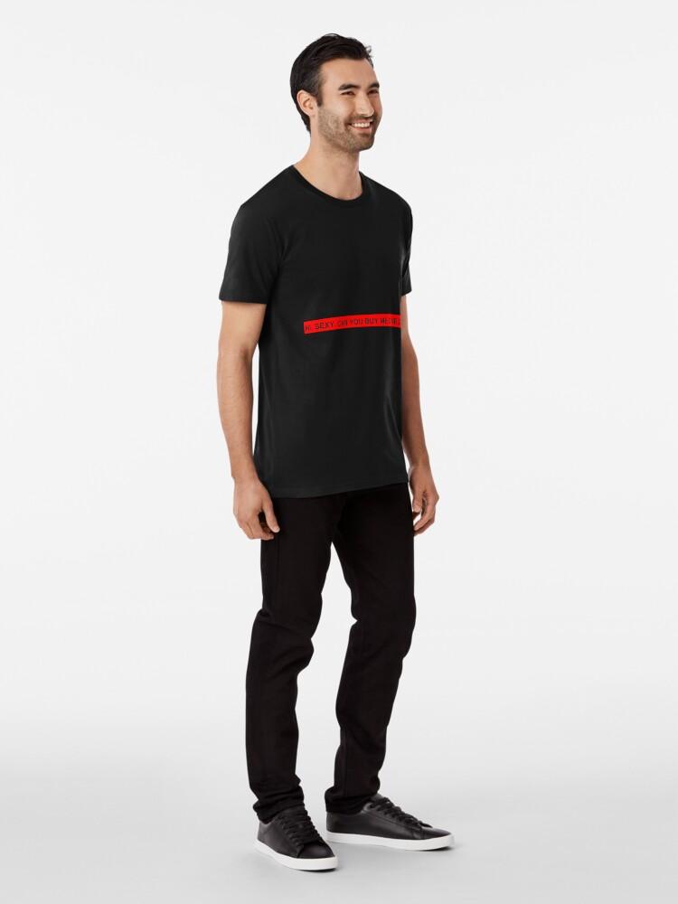 Alternate view of CHAT STARTER DESIGN Premium T-Shirt