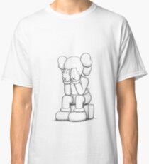 Camiseta clásica Kaws triste