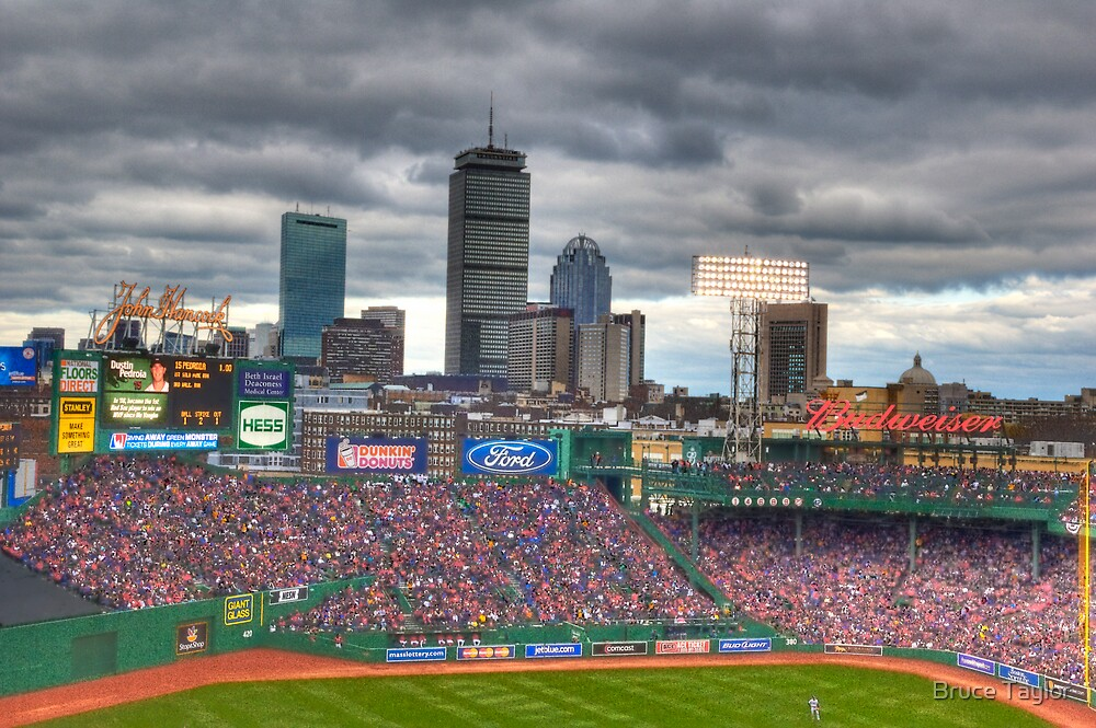 Fenway on Opening Day by Bruce Taylor
