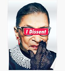 Póster Notorious RBG - I Dissent