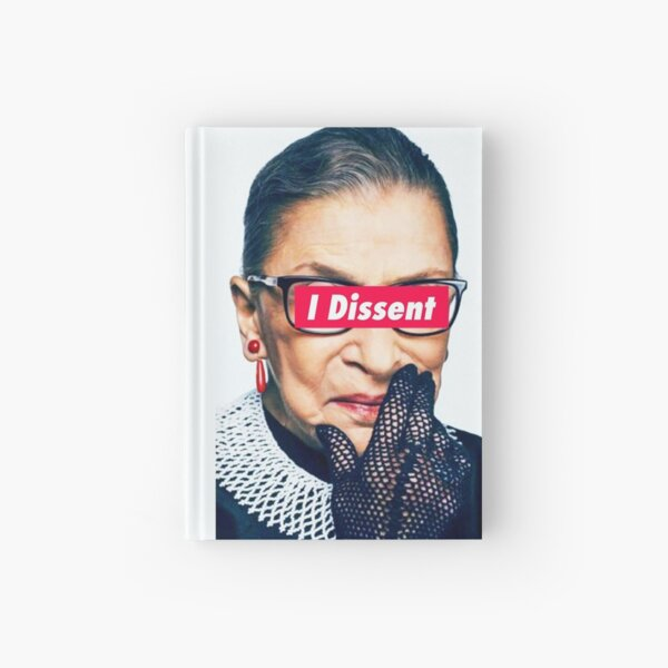 Notorious RBG - I Dissent Hardcover Journal