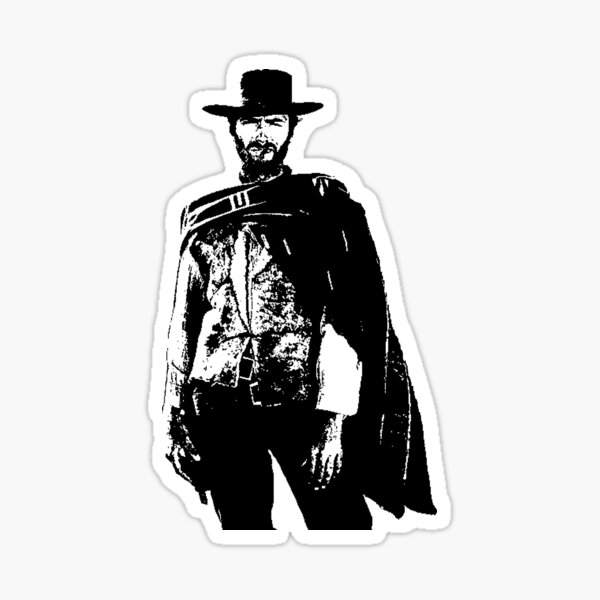 The Good, The Bad & The Ugly Sticker