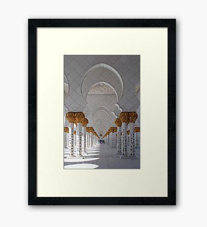 Sheikh Zayed Mosque, Abu Dhabi Framed Print