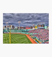 Fenway on Opening Day Photographic Print