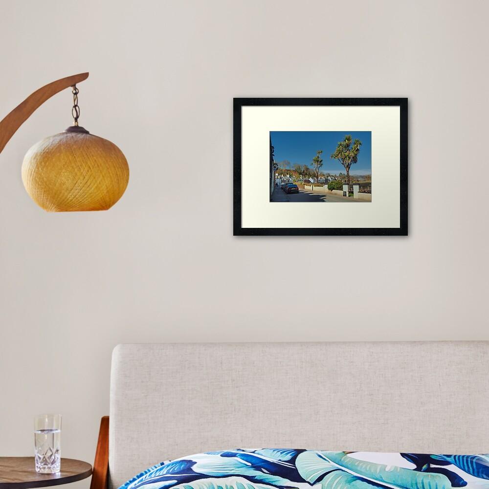 Plockton, Highlands, Scotland Framed Art Print