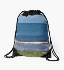 The Indian Ocean At Penguin Island Drawstring Bag