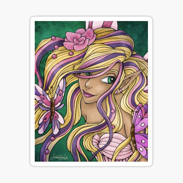 Fairy Portraits: Calenthe Sticker