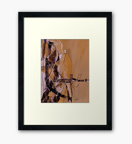 Bridge Over Troubled Water Framed Print