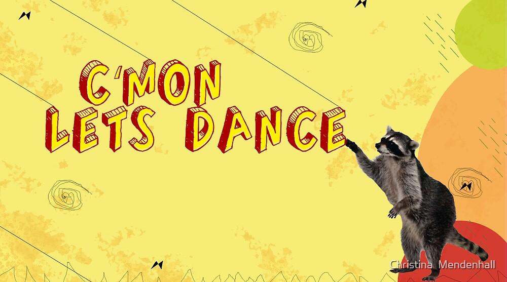 Lets Dance Illustration by Christina  Mendenhall