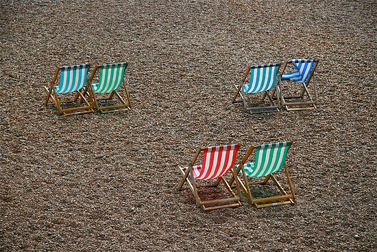 Brighton UK, summer in May 09 by Tenee Attoh