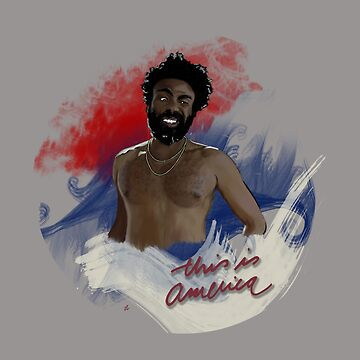 this is america // gambino by vaboredwoolf