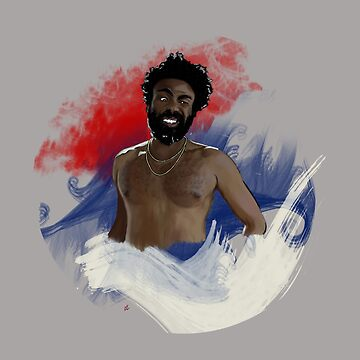 this is america // gambino (no text) by vaboredwoolf