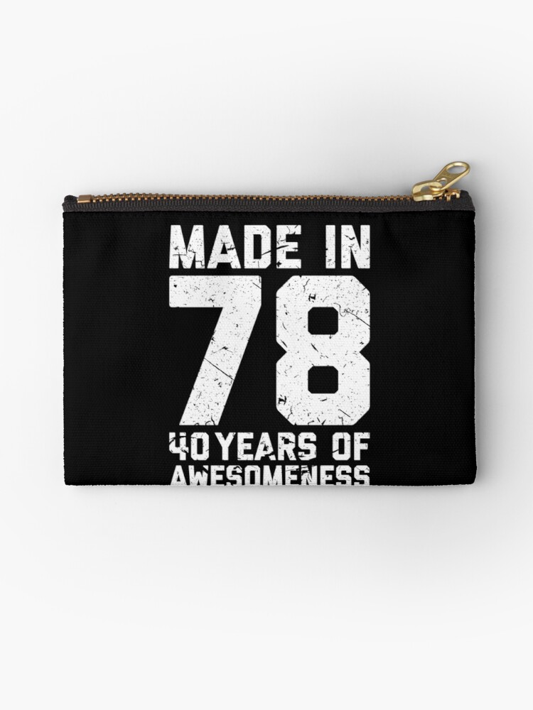 40th Birthday Gift Adult Age 40 Year Old Men Women