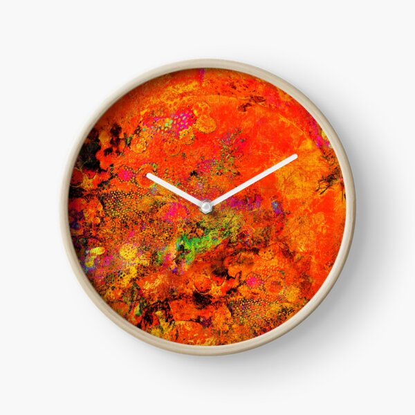 EYE OF THE TIGER Clock