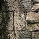 Stonework/concrete detail at Harley Clarke by BonnieJames