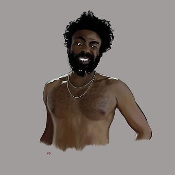 this is america // gambino (portrait) by vaboredwoolf