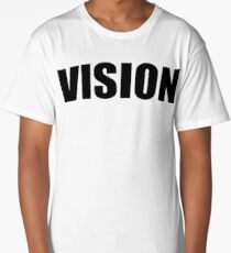 VISION Logo T-Shirt By 360 Sound And Vision Long T-Shirt
