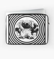 Cool koala retro style black white Laptop Sleeve