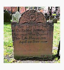Lámina fotográfica Trinity Church Cemetery, NYC