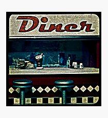 Ttv: Diner Photographic Print