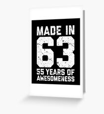 55th birthday greeting cards redbubble
