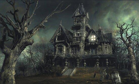 The Haunted House by Daniele (Dan-ka) Montella