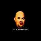 Bald Assertions (noir) by GodsAutopsy