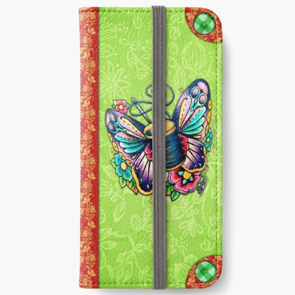 sewing gift wallet iphone case iPhone Wallet