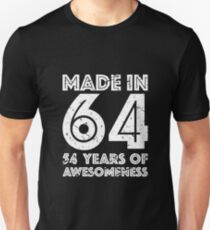 54th Birthday Gift Adult Age 54 Year Old Men Women Unisex T Shirt