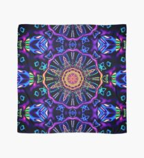 """""""Return to Awe"""" - Psychedelic Abstract Mandala  Scarf"""