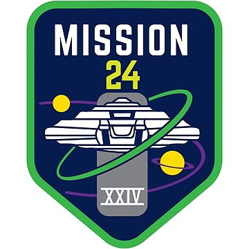 Jupiter Mission 24 (badge) - inspired by Lost in Space by hopography