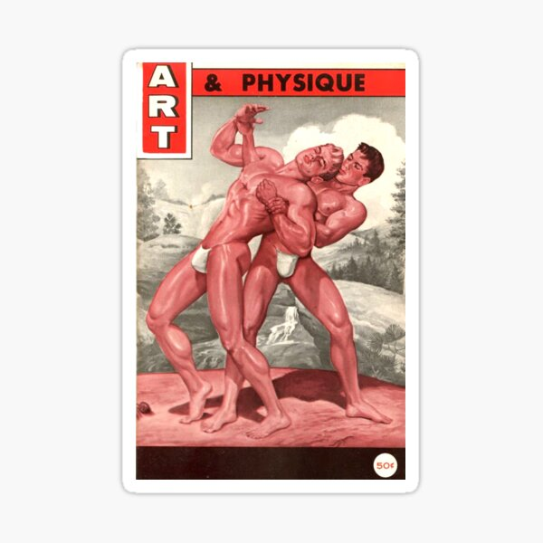 Art & Physique Mag Pegatina