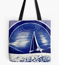 Blue Sailor Tote Bag