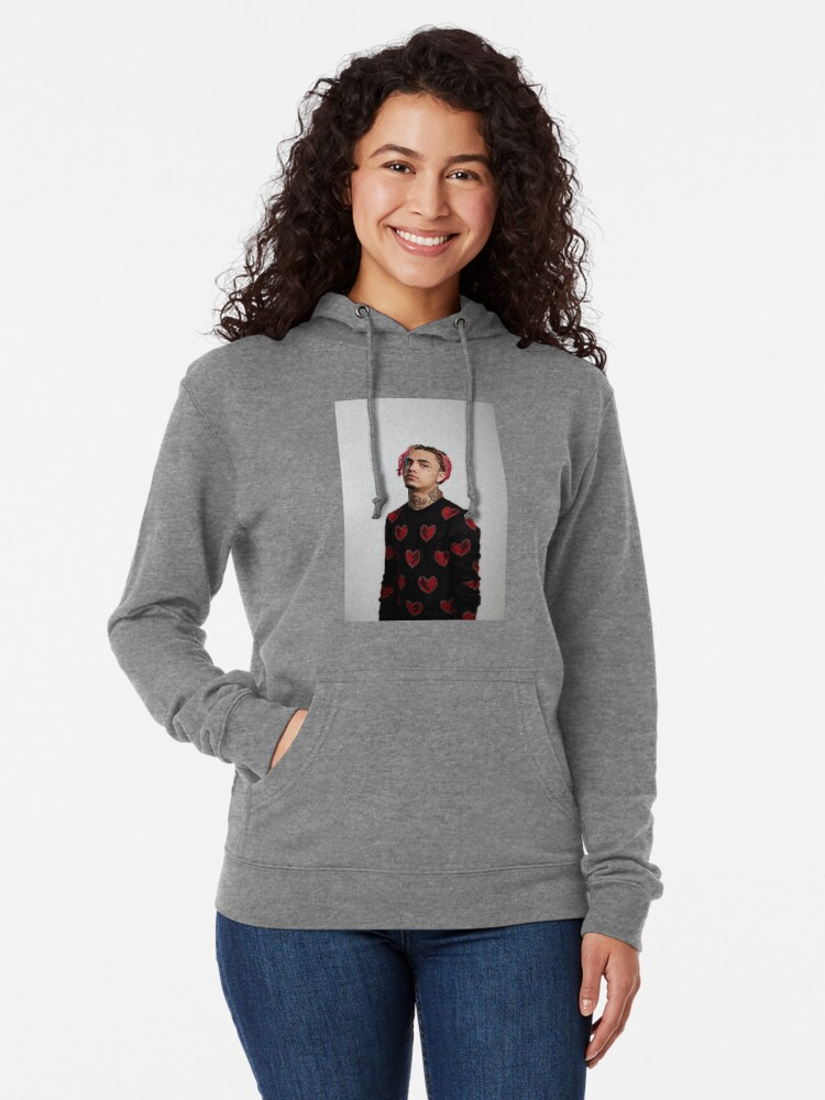 d784f7fb15c Alternate view of Lil Pump Gucci Sweater Supreme Style Lightweight Hoodie