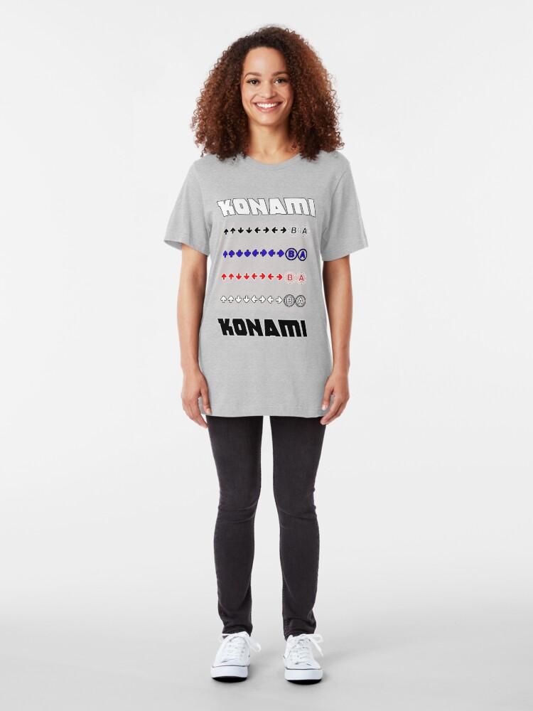 Alternate view of Konami Code Slim Fit T-Shirt
