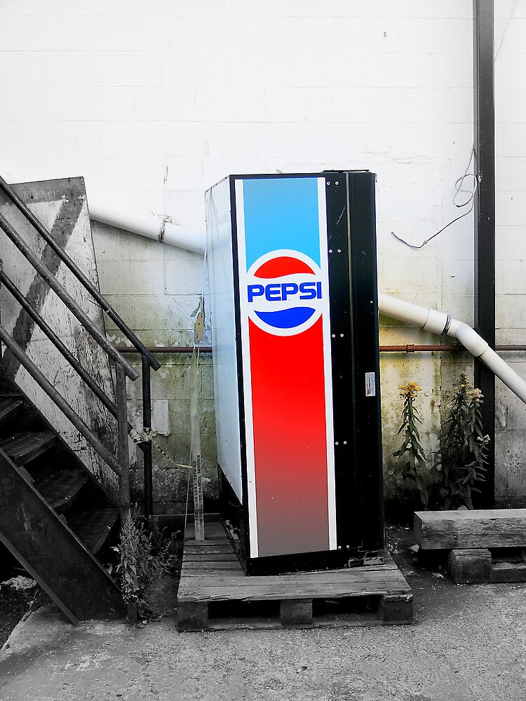 Loan Pepsi Machine by rtographsbyrolf
