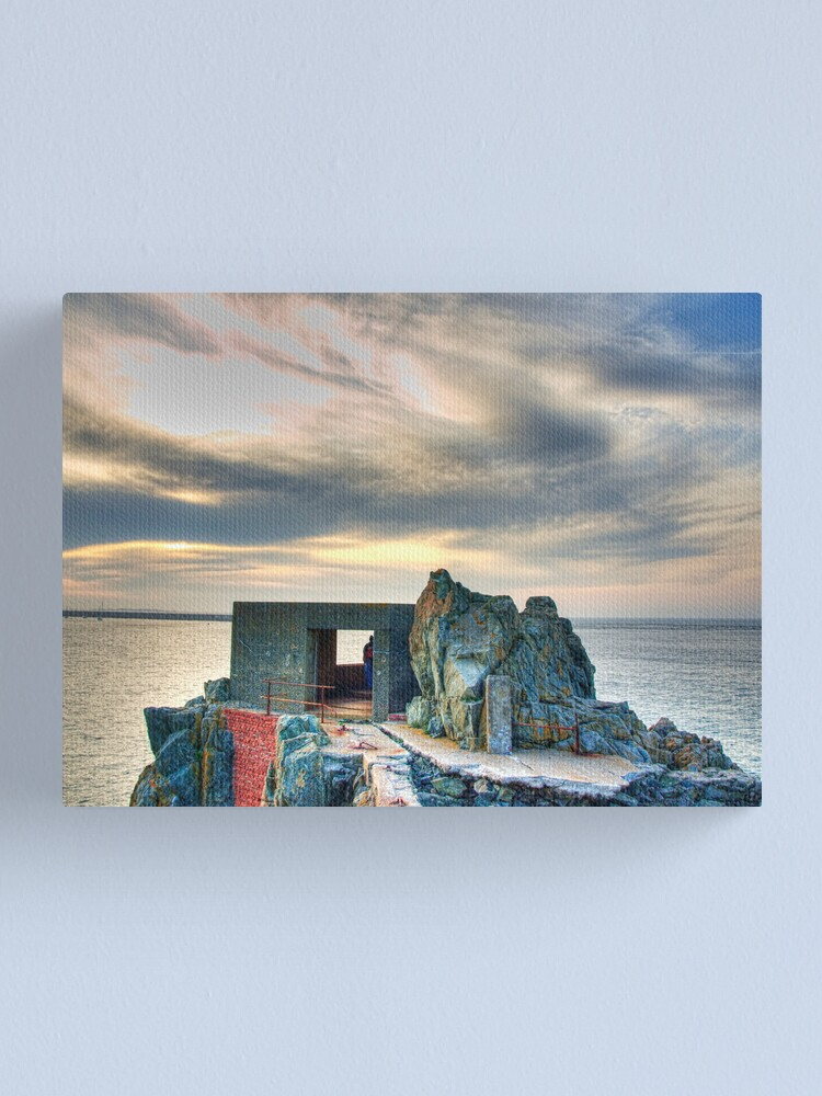 Alternate view of Bunker on a Headland - Alderney Canvas Print