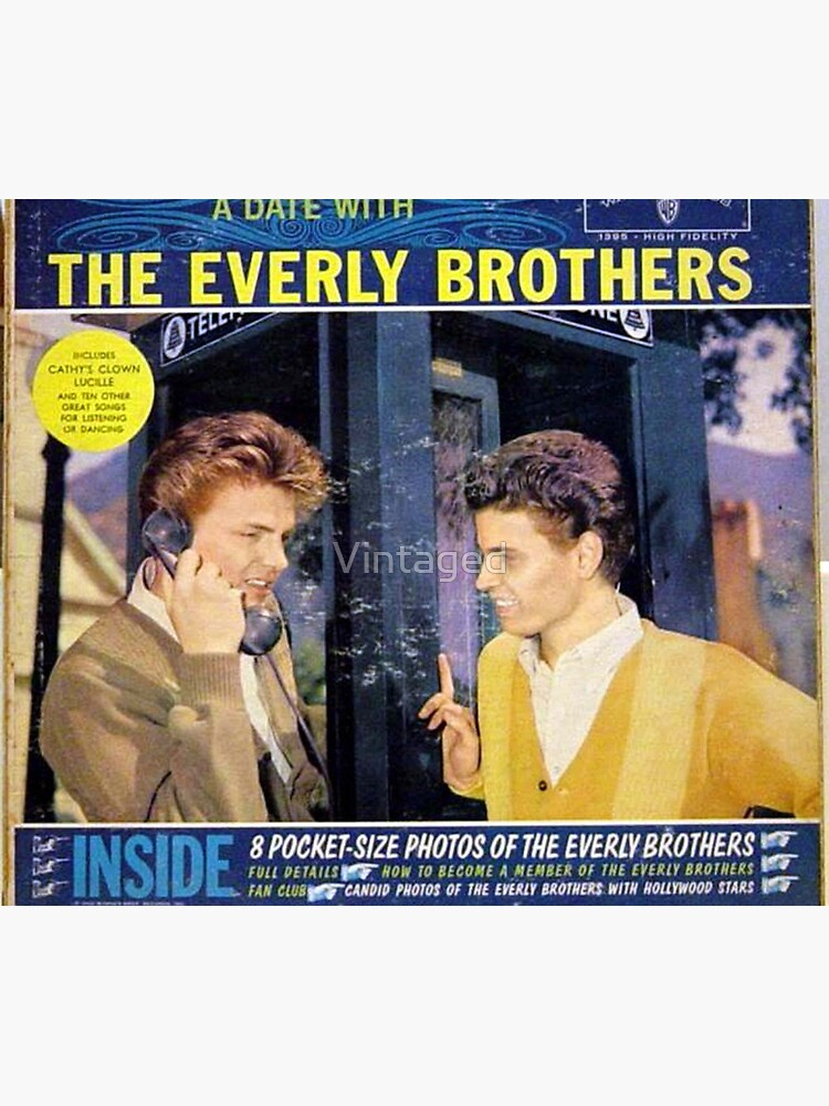 Everly Brothers, A Date With The Everly Brothers, Rockabilly by Vintaged